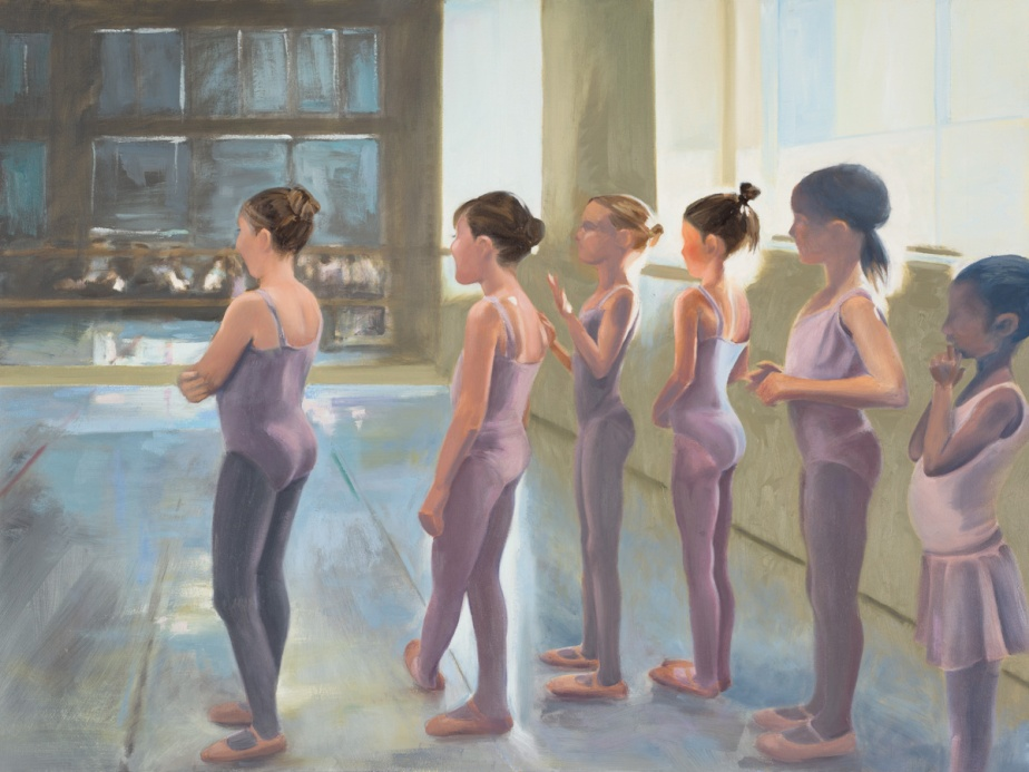 """Ballet 1_oil on canvas_36X48""""_2015 photo credit Evermore"""